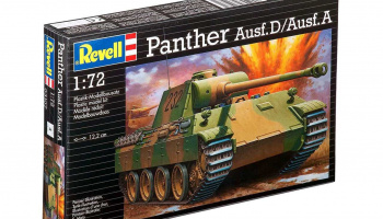 PzKpfw. V Panther Ausf. D/Ausf. A (1:72) Plastic Model Kit 03107 - Revell