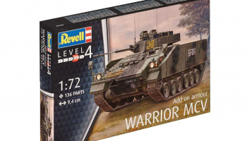 Plastic ModelKit tank 03144 - Warrior MCV with Add-on armour (1:72)