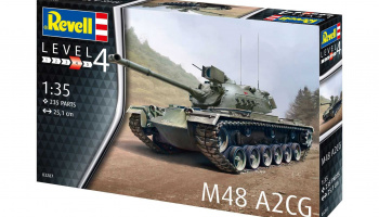 M48 A2CG (1:35) Plastic Model Kit 03287 - Revell