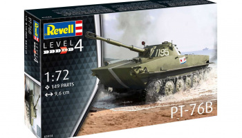 PT-76B (1:72) Plastic Model Kit tank 03314 - Revell