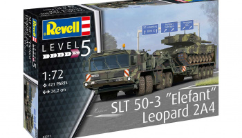"SLT 50-3 ""Elefant"" + Leopard 2A4 (1:72) Plastic Model kit military 03311 - Revell"