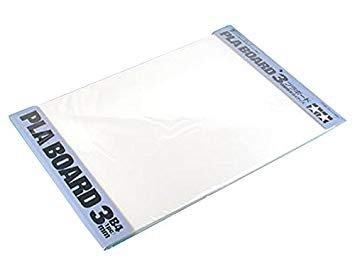 Plastic model remodeling Tamiya CLEAR PLA-PLATE Plastic Board 0.4mm B4 4pcs