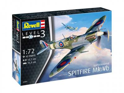 fd165578f Plastic ModelKit letadlo 03897 - Supermarine Spitfire Mk. Vb (1:72 ...