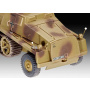 Plastic ModelKit military 03264 - sWS with 15cm Panzerwerfer 42 (1:72)