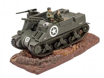 Revell M7 HMC Priest Panzer Tank Bausatz Model Kit 1:76 Art 03216