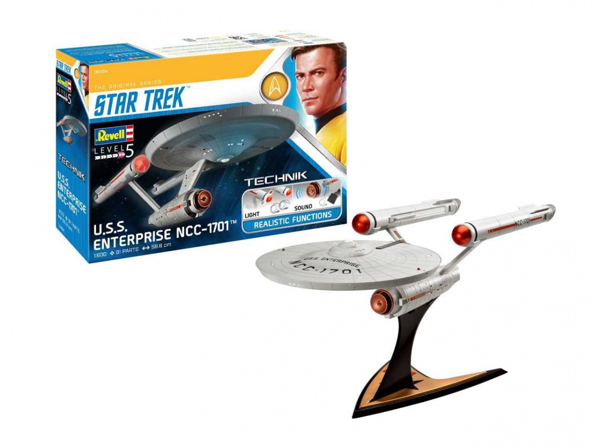 Plastic ModelKit TECHNIK Star Trek 00454 - USS Enterprise