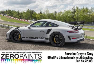 Porsche 911 GT3 RS Crayon Grey Paint 60ml - Zero Paints   Car-model