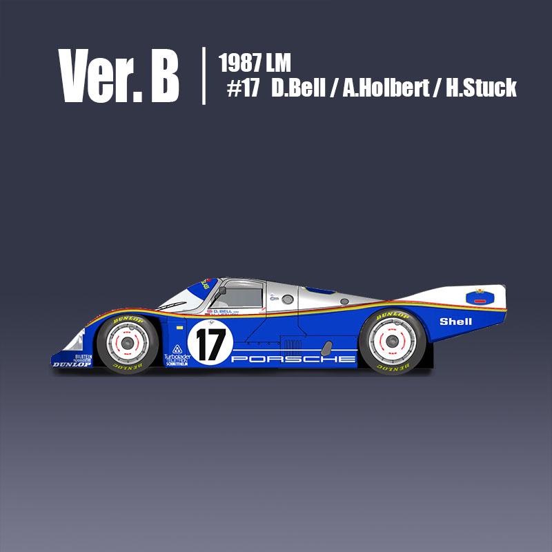 Porsche 962C Fulldetail Kit - Model Factory Hiro | Car ...
