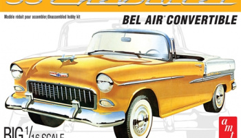 1955 CHEVY BEL AIR CONVERTIBLE 1:16 SCALE MODEL KIT - AMT