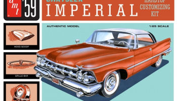 1959 CHRYSLER IMPERIAL 1:25 SCALE MODEL KIT - AMT