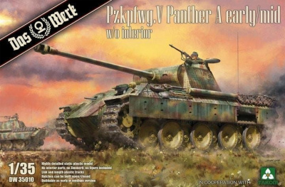 Pzkpfwg. V Panther Ausf.A Early / Mid 1/35 - Das Werk