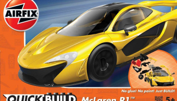 Quick Build auto J6013 - McLaren P1 - žlutá