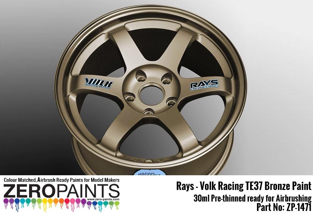 Car Paint Colors >> Rays - Volk Racing TE37 Bronze Paint 30ml - Zero Paints | Car-model-kit.com