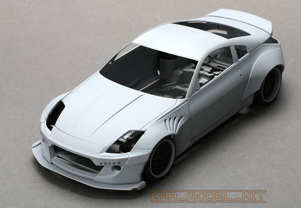 Rb Nissan 350z Wide Body Kit For 350z Plastic Models