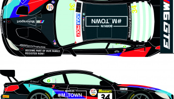 BMW M6 GT3 34 Liqui Moly 12h of Bathurst 2020 1/24 - Racing Decals 43