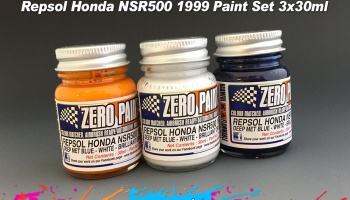 Repsol Honda NSR500 1999 Paint Set 3x30ml - Zero Paints