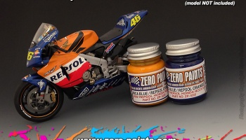 Repsol Honda RC211V 2002 Paint Set 2x30ml - Zero Paints