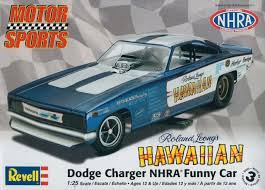 Roland Leong's Hawaiian Dodge Charger NHRA Funny Car 1:25 - Revell