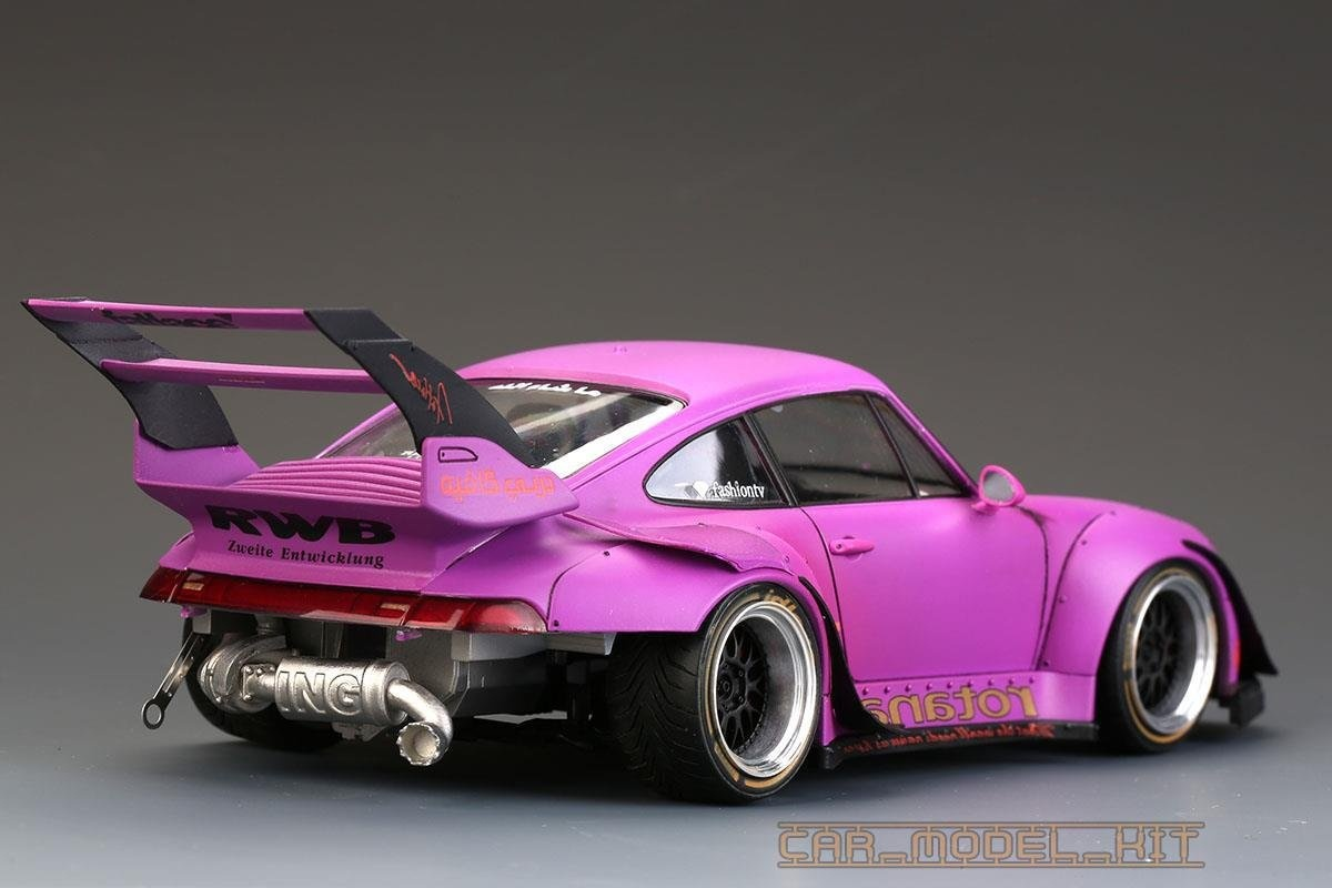 Rwb Porsche 993 Widebody Kit For Ver Akira Nakai Rotana Hobby Design Car Model Kit Com
