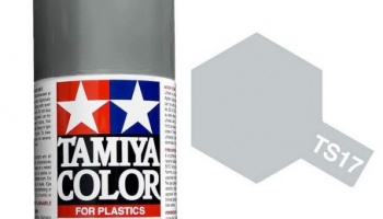 Spray TS17 Gloss Aluminum - Tamiya