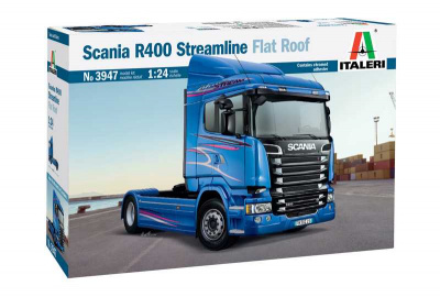 SCANIA R400 STREAMLINE Flat Roof - Italeri