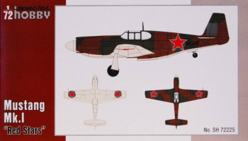 "Mustang Mk.I ""Red Stars"" - Special Hobby"