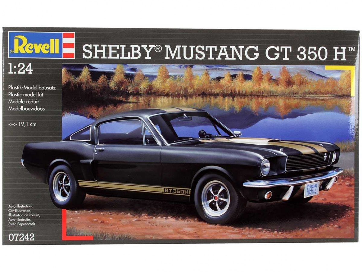 Shelby mustang gt 350 h revell