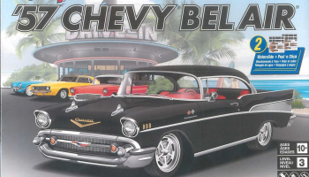 Snap Kit MONOGRAM auto 1529 - `57 Chevy Bel Air (1:25)