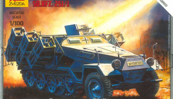 "Snap Kit tank 6243 - Sd.Kfz.251/1 Ausf.B ""Stuka"" (1:100)"