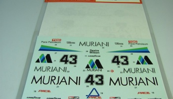 Williams FW07 MURJANI (#43) - Studio27