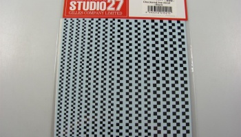 Checkered Line Black - Studio27