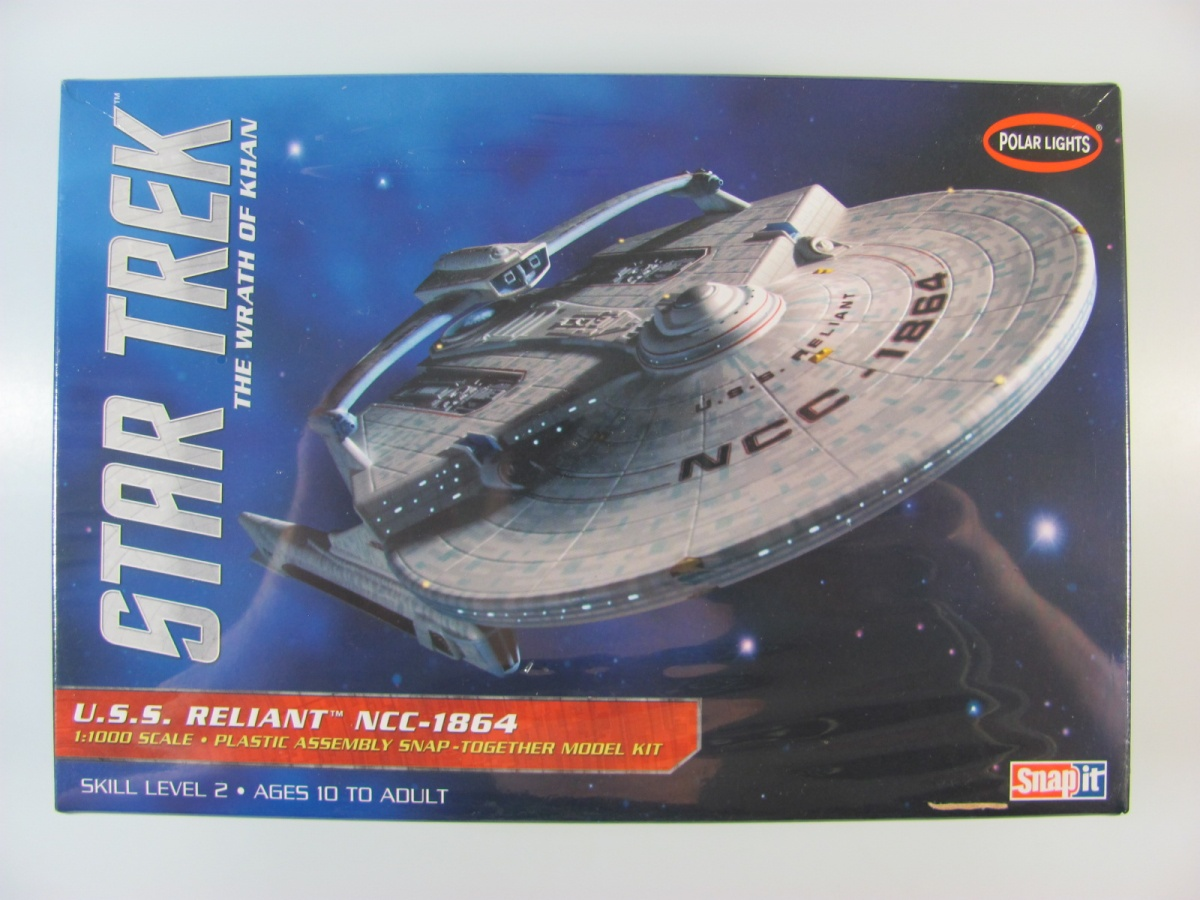 Star Trek USS Reliant NCC1864 - Polar Lights | Car-model-kit com