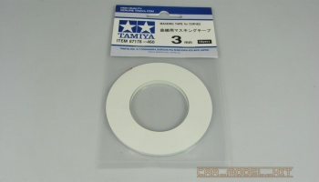 Masking Tape for Curves 3mm - Tamiya