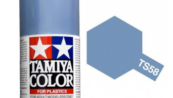 Spray TS58 Pearl Light Blue - Tamiya