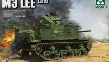 US Medium Tank M3 Lee (Late) 1/35 - Takom