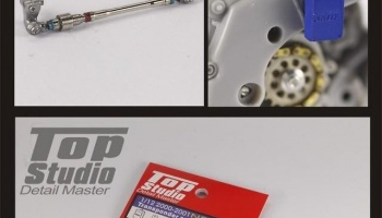 Honda 2000-2001 NSR250 Transponder and Shift Linkage - Top Studio
