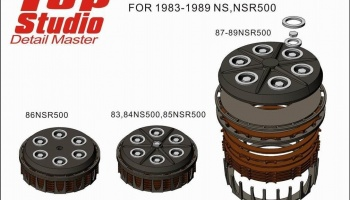 Clutch for 1983-1989 NS, NSR500 - Top Studio
