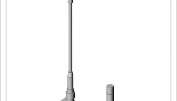 MP4/6 Antenna 1/12 - Top Studio