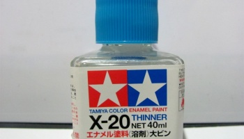 X-20 Enamel Thinner Tamiya (40ml) X20