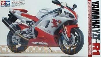 Yamaha YZF R1 Vivid Red / Pearl White Paints 2x30ml - Zero
