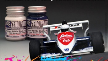 Toleman TG184 Candy Version Paint Set 2x30ml - Zero Paints