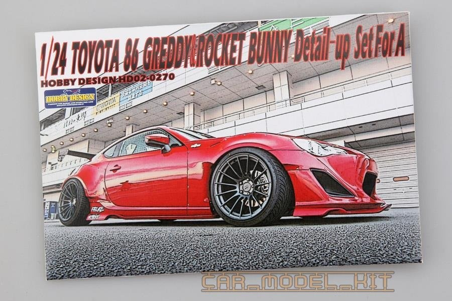 Toyota 86' Greddy&Rocket Bunny Detail-up Set For A - Hobby