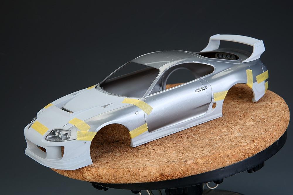 Acrylic Enamel Paint >> Toyota Supra Modification Kits - Hobby Design | Car-model ...