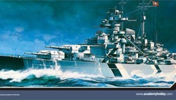 Model Kit loď 14219 - BATTLESHIP TIRPITZ (STATIC) (1:800)