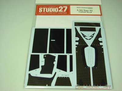 Type 91 Carbon decal (for EBB) - Studio27