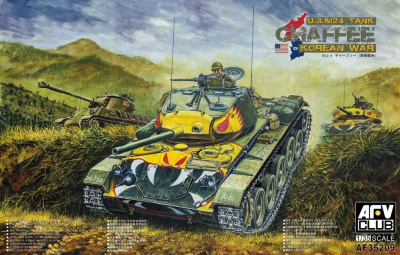 US M24 Chaffee Korean War (1:35) - AFV Club
