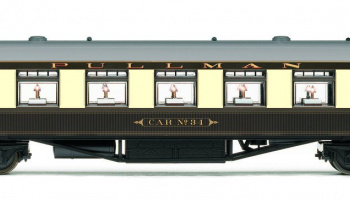 Vagón osobní HORNBY R4739 - Pullman Second Class Parlour Car 'Car No.34'