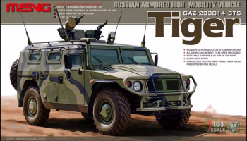 Russian Armored HighMobility Vehicle Gaz233014 Sts1:35 - Meng
