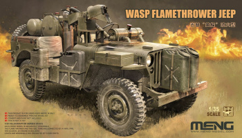 Wasp Flamethrower Jeep 1:35 - Meng