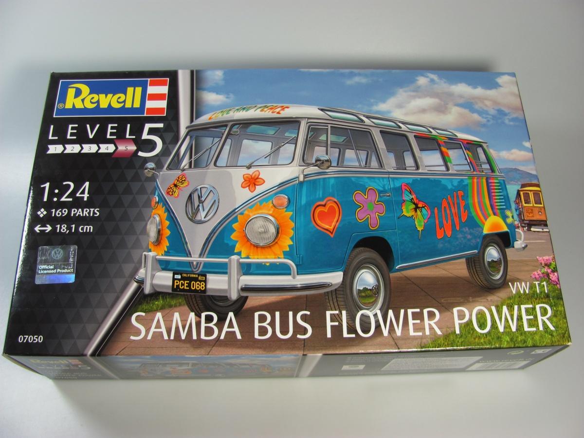 Vw T1 Samba Bus Flower Revell